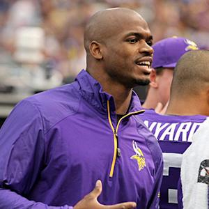 Peterson's future with Vikings