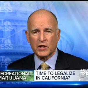 Gov. Brown Questions Value Of Legal Recreational Marijuana