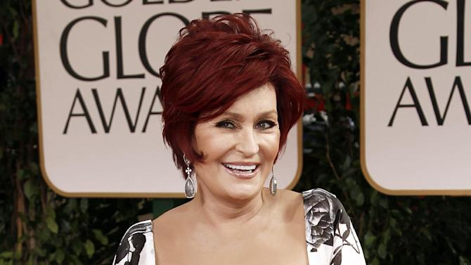 "FILE - This Jan. 15, 2012 file photo shows Sharon Osbourne at the 69th Annual Golden Globe Awards in Los Angeles. Osbourne says she's ready to say goodbye to ""America's Got Talent."" Osbourne took to Twitter on Tuesday, addressing ""my darling"" fellow judge Howard Stern and saying, ""money is not the reason I'm not returning"" to the show.  NBC said Osbourne hasn't informed the network that she intends to leave ""America's Got Talent,"" which is now airing its seventh season. (AP Photo/Matt Sayles, file)"