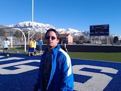 Pleasant Grove soccer coach Chris Ecalono — Facebook