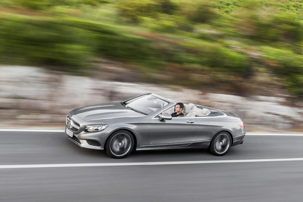 The S Class Cabriolet: setting a new standard for luxury open-top motoring