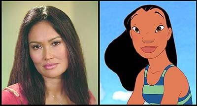 Tia Carrere is the voice of Nani in Walt Disney's Lilo & Stitch