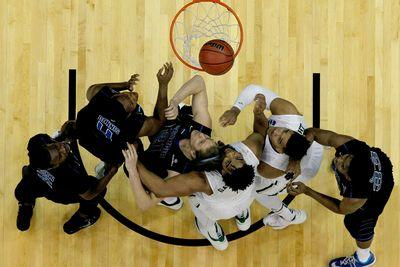 Watch: How the rules of March Madness guarantee more upsets than the NBA