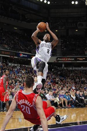 Gay scores 26 to lead Kings past Rockets 106-91