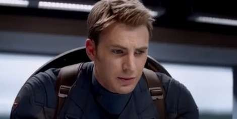 Chris Evans in 'Captain America: The Winter Soldier's' trailer