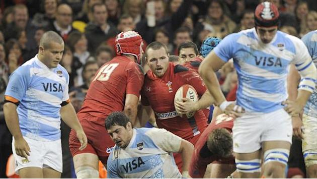 Rugby - Wales claim record win over Argentina