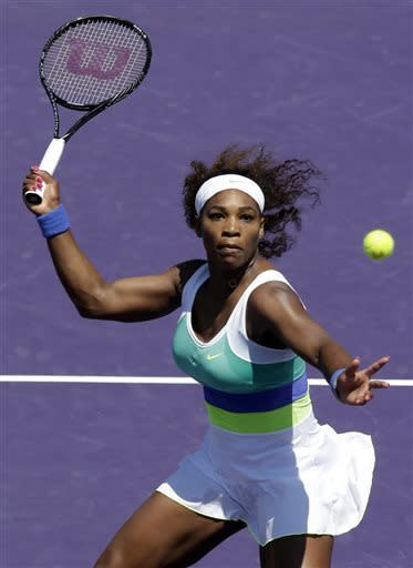 Serena Williams beats Sharapova in Sony Open final