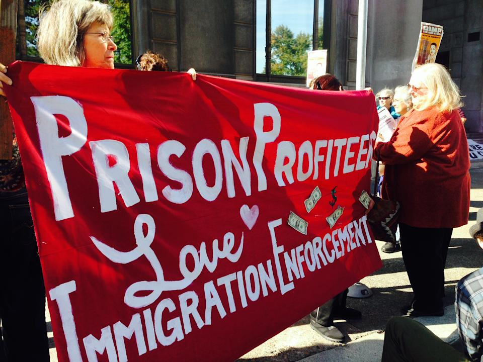 Immigration campaign focuses on Portland, prisons