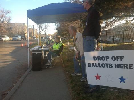 Drop Off and Early Voting a Success in Boulder