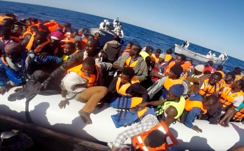 Over 3,400 migrants rescued in Mediterranean