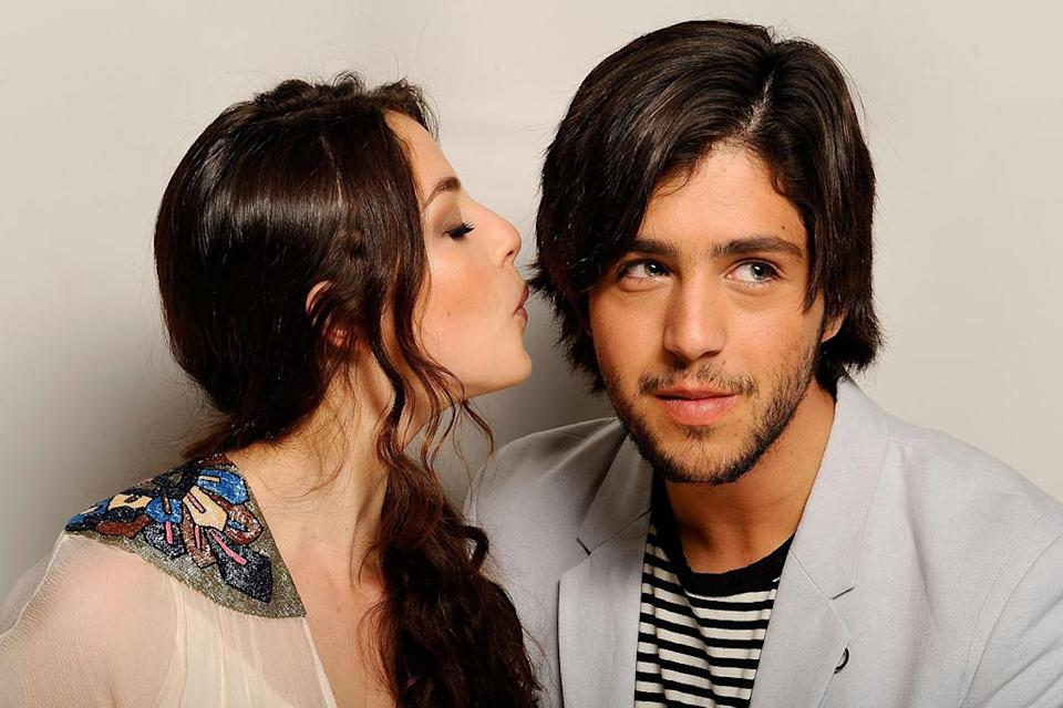 CineVegas Portraits 2008 Olivia Thirlby Josh Peck
