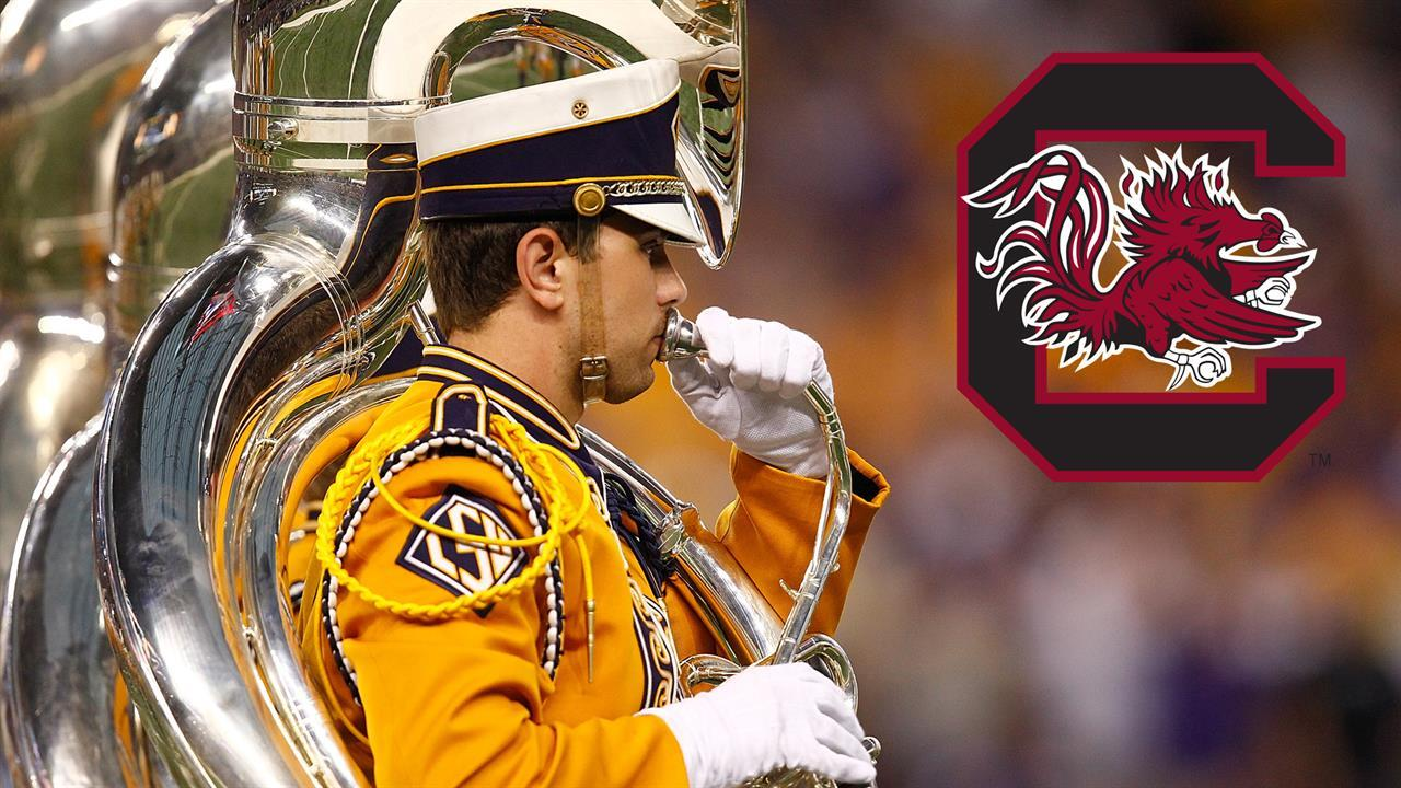 Mad Dash: LSU band to play South Carolina fight song