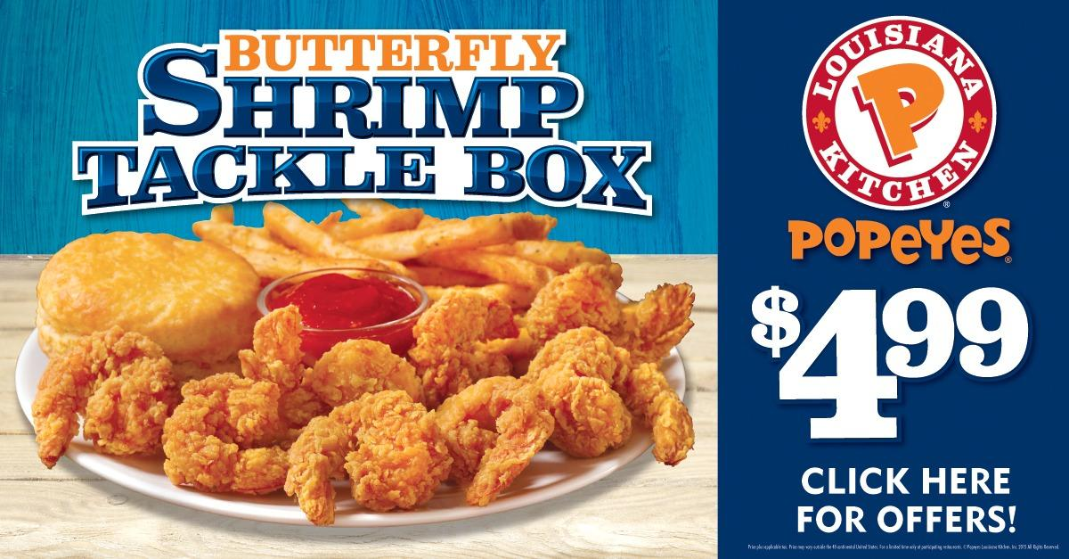 Popeyes Butterfly Shrimp