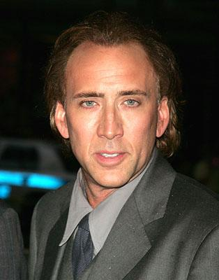 Nicolas Cage at the New York premiere of Paramount Pictures' World Trade Center
