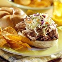 Duke: Pork and Slaw Barbeque Rolls