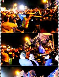 Bloodshed during Pakatan ceramah in Malacca