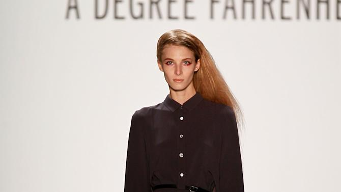 A Degree Fahrenheit Presented By Mercedes-Benz And Elle Show - Mercedes-Benz Fashion Week Autumn/Winter 2013/14