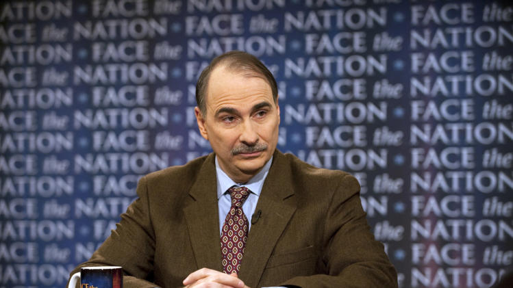 In this image provided by CBS, White House Senior Advisor David Axelrod talks about tax cuts on CBS's Face the Nation in Washington Sunday, Dec. 12, 2010.  (AP Photo/CBS, Chris Usher)   NO SALES. NO ARCHIVES.