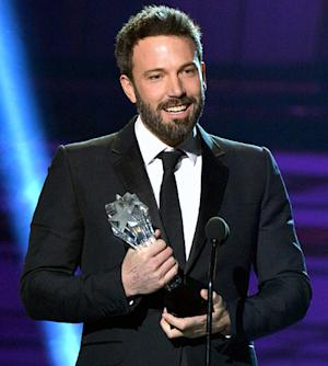 Ben Affleck Wins Critics' Choice Movie Award for Best Director After Oscars Snub