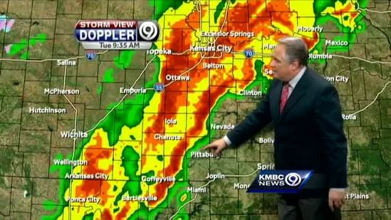 Tornado watch continues for portion of KC area