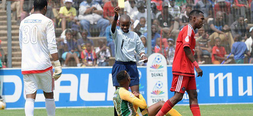 Q & A with South Africa's youngest referee Fezile Hlophe