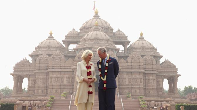 The Prince Of Wales And Duchess Of Cornwall Visit India - Day 3