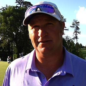 Dawie van der Walt interview after Round 1 of Rex Hospital Open