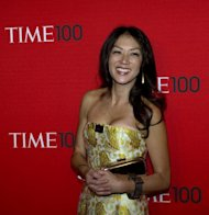 "Law professor Amy Chua at the Time Magazine ""World's 100 Most Influential People"" gala on April 26, 2011. Chua Thursday urged strict Asian parents to relax and give their children more freedom but also to avoid the ""romanticised"" Western focus on creativity over hard work"