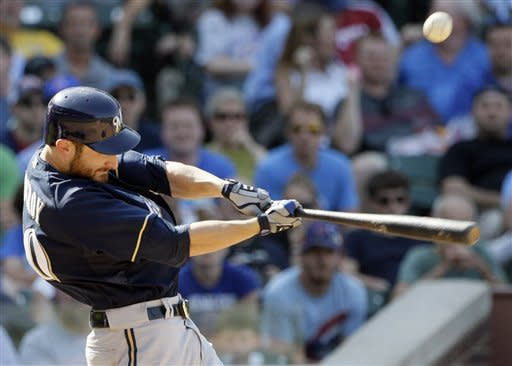 Cubs rally, overcome Lucroy's 7 RBIs to beat Brews