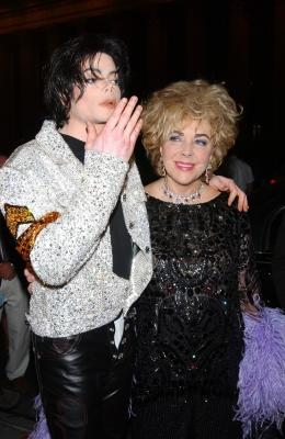 Michael Jackson and Elizabeth Taylor in 2001 -- WireImage