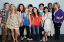 In this undated image released by Fox, the remaining ten contestants from the singing competition series, from left, Phillip Phillips, Elise Testone, DeAndre Brackensick, Hollie Cavanaugh, Colton Dixon, Skylar Laine, Heejun Han, Jessica Sanchez, Josh Ledet and Erika Van Pelt, pose for a group photo in Los Angeles. (AP Photo/Fox, Michael Becker)