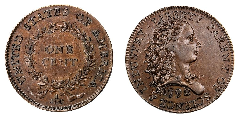 Prototype US penny sold for 117.5 million pennies