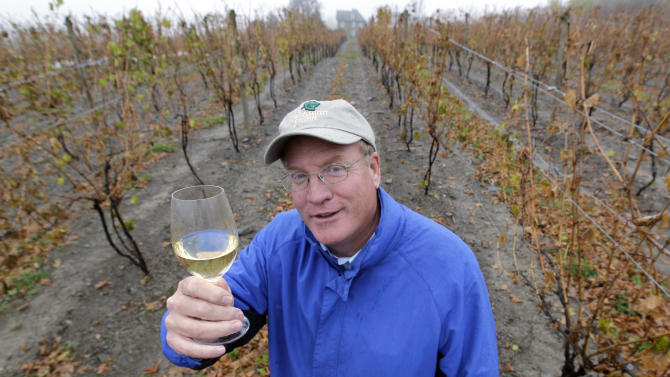 Wine and fracking don't mix, say vineyard owners