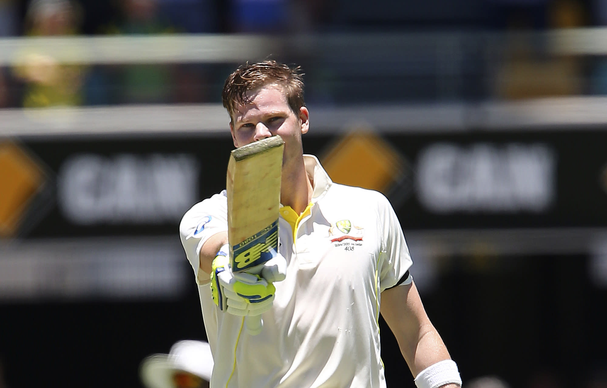 2nd test: Smith century gives Australia advantage