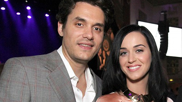 Katy Perry and John Mayer at The Friar's Foundation Gala