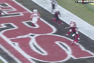 Screw logic, screw the NFL's rules, this play should be a touchdown