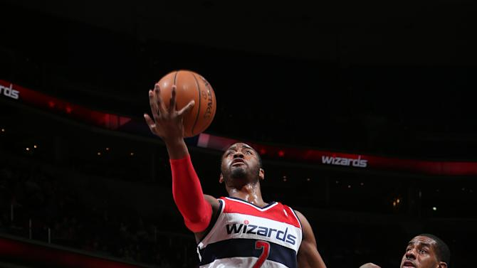 Wizards top Trail Blazers 100-90 to get over .500