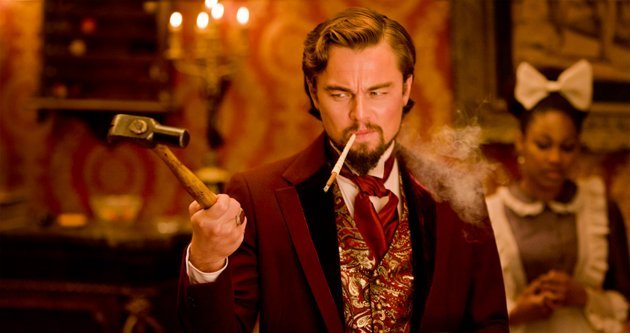 Leonardo DiCaprio in 'Django Unchained'