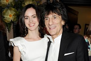 Rolling Stones' Ronnie Wood Gets Married