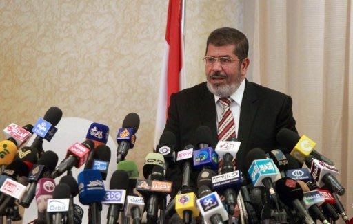 Mohammed Mursi says Christians in Egypt