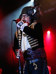 Adam Ant performs at the Best Buy Theater in New York City. Photo by Cindy Ord/Getty Images