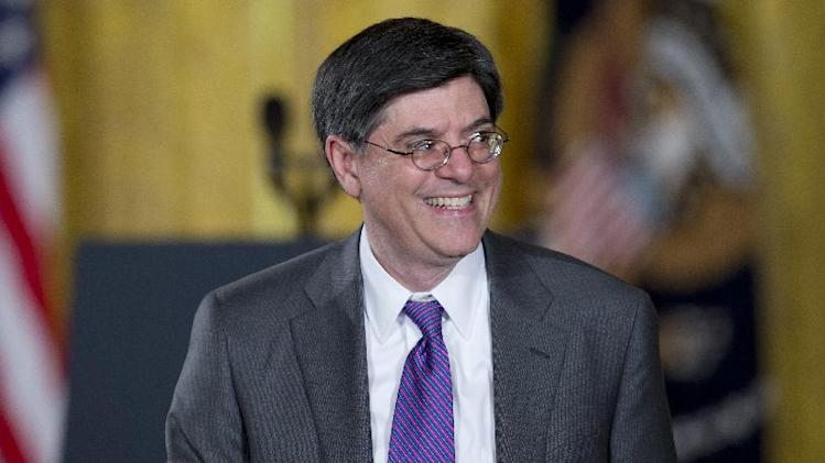 Treasury Secretary Jack Lew Meets with European Finance Ministers