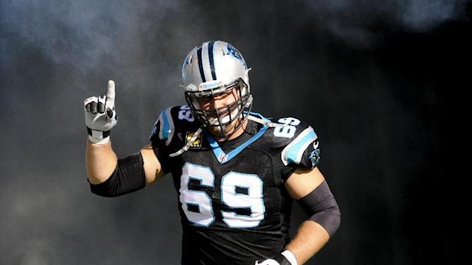 Panthers offensive tackle Gross set to retire