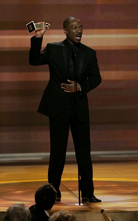 Eddie Murphy at the 64th annual Golden Globe Awards. 