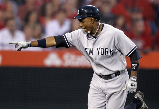 Yankees rally early, snap Angels' 8-game streak