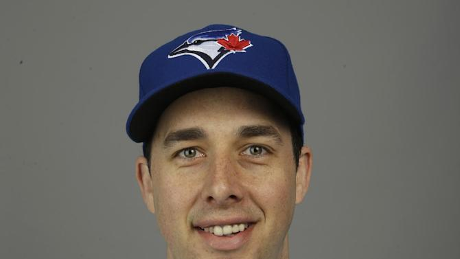 This is a 2015 photo of Jeff Francis of the Toronto Blue Jays baseball team. This image reflects the Toronto Blue Jays active roster as of Saturday, Feb. 28, 2015, when this image was taken at spring training in Dunedin, Fla. (AP Photo/Lynne Sladky)