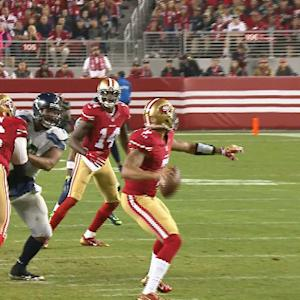 Week 13: San Francisco 49ers quarterback Colin Kaepernick highlights
