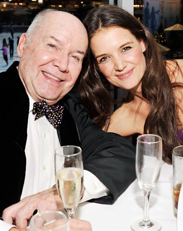 Katie Holmes Double-Fisted Champagne, Diet Coke at Broadway Dreams Foundation Gala