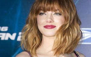 """Actress Emma Stone arrives for """"The Amazing Spider-Man 2"""" premiere in New York"""