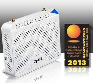 ZyXEL LTE Gateway Awarded CES Innovations 2013 Design and Engineering Honoree